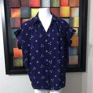 Madewell Cotton Shirt Size Medium
